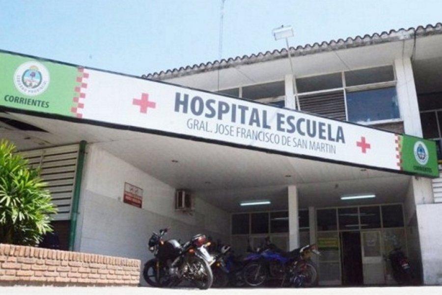Murió un paciente con Coronavirus en el Hospital Escuela