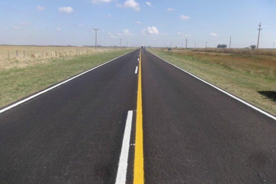 Vialidad recuperó en Corrientes 108 kilómetros de la Ruta N° 123