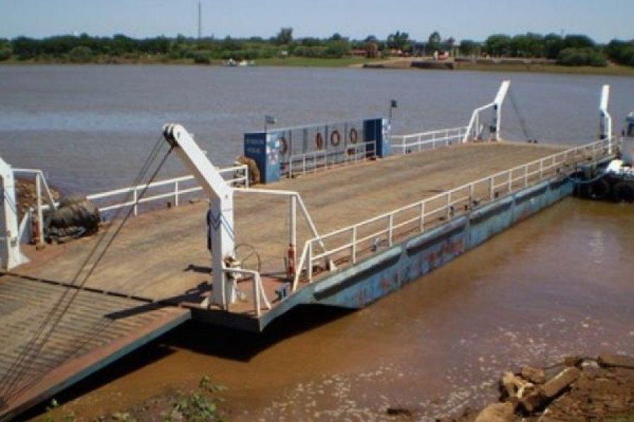 Tráfico fluvial suspendido hasta tiempo indeterminado entre Alvear e Itaquí