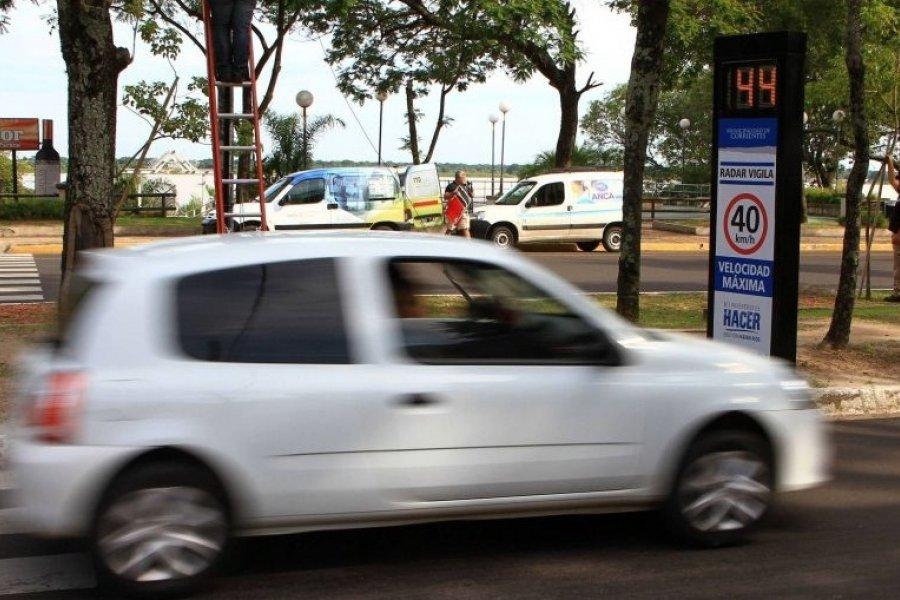 Fotomultas en Corrientes: Conoce las 12 puntos con cámaras
