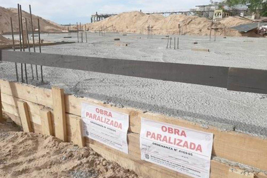 URGENTE: Demolerán hormigonado puesto en medio de la playa Islas Malvinas