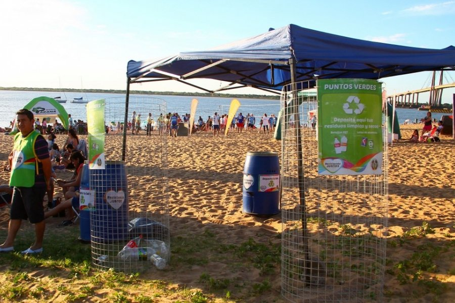 Corrientes: Más de trescientas mil personas visitaron las playas capitalinas