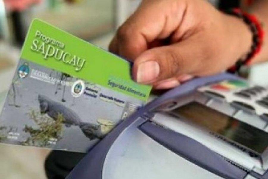 Corrientes: Evalúan la continuidad de las tarjetas Sapucay