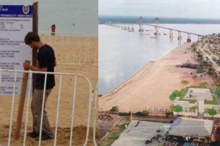 Corrientes: Piden al ICAA informe del impacto ambiental por construcciones en playas