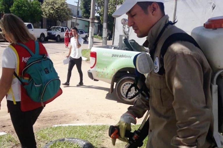 Corrientes: Salud continúa con las tareas de concientización y prevención de Dengue en toda la provincia