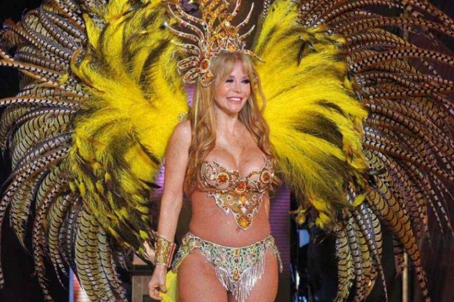 Graciela Alfano estará el último fin de semana del Carnaval de Corrientes