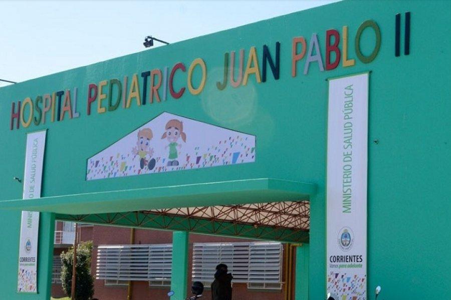 Dos niños con Coronavirus están internados en el Pediátrico