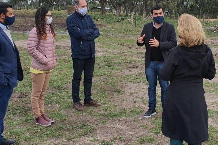 Corrientes: Avanzan las obras del proyecto Parque Incubador de Emprendimientos Hortícolas