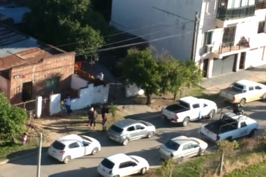 Los correntinos también se movilizaron tras la convocatoria por las redes sociales