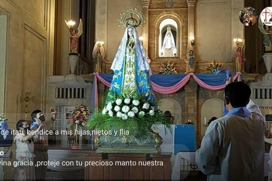 Corrientes: Serenata y saludo a la Virgen de Itatí