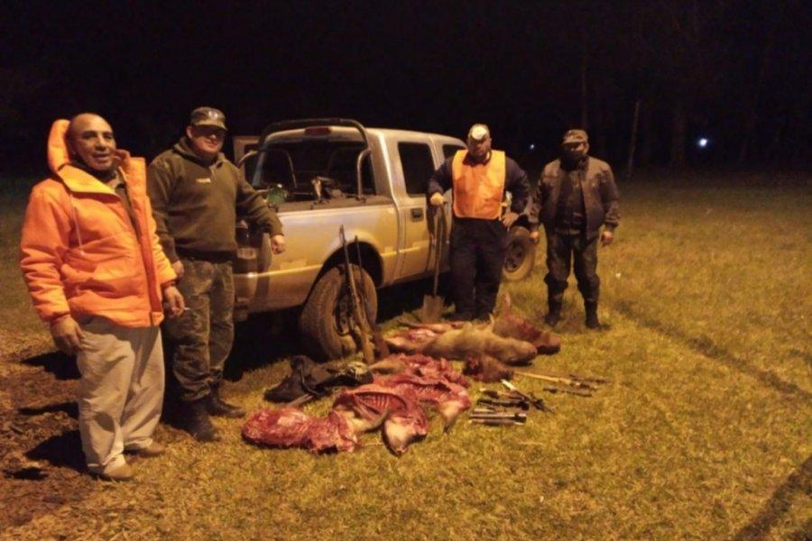Corrientes: Cazadores depredan la fauna autóctona en Santo Tomé