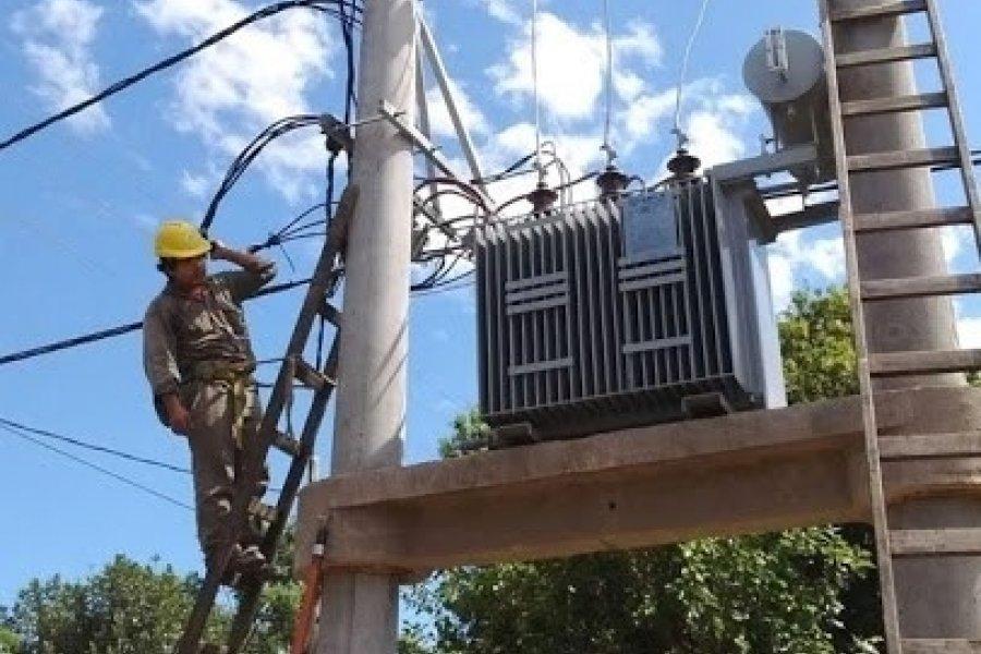 Por tareas de mantenimiento, cortes programados en el interior de Corrientes