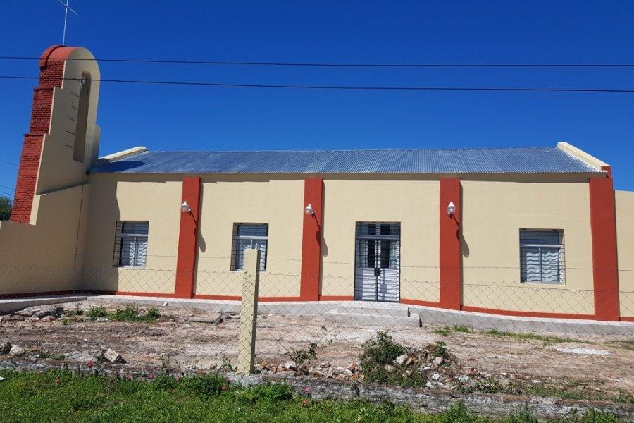 Corrientes: El gobierno provincial realizó obras de refacción y ampliación de una Capilla en Pueblo Libertador