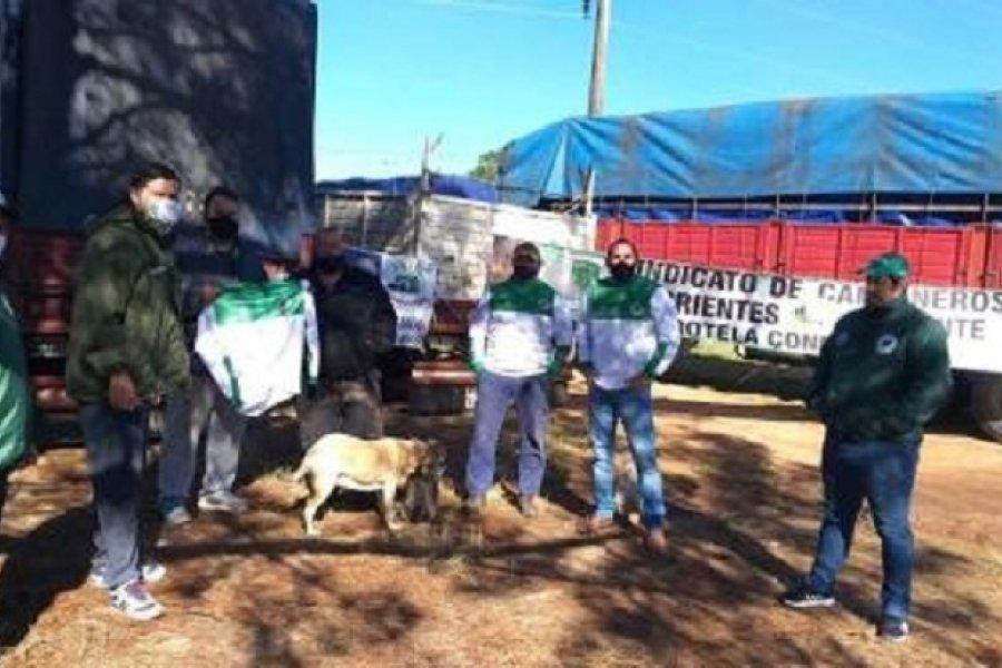 Saladas: Fuerte reclamo de camioneros por discriminación