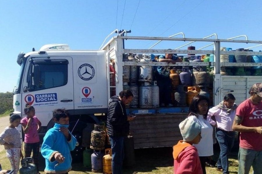 Corrientes: Cronograma semanal de la Garrafa Social en Capital