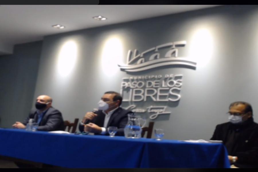 El Gobernador de Corrientes anunció que se realizarán 290 hisopados en Paso de los Libres