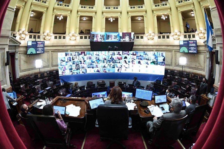 El oficialismo aprobó la Ley que regula el Teletrabajo