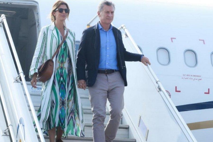 Mauricio Macri llegó a París con discurso anticuarentena
