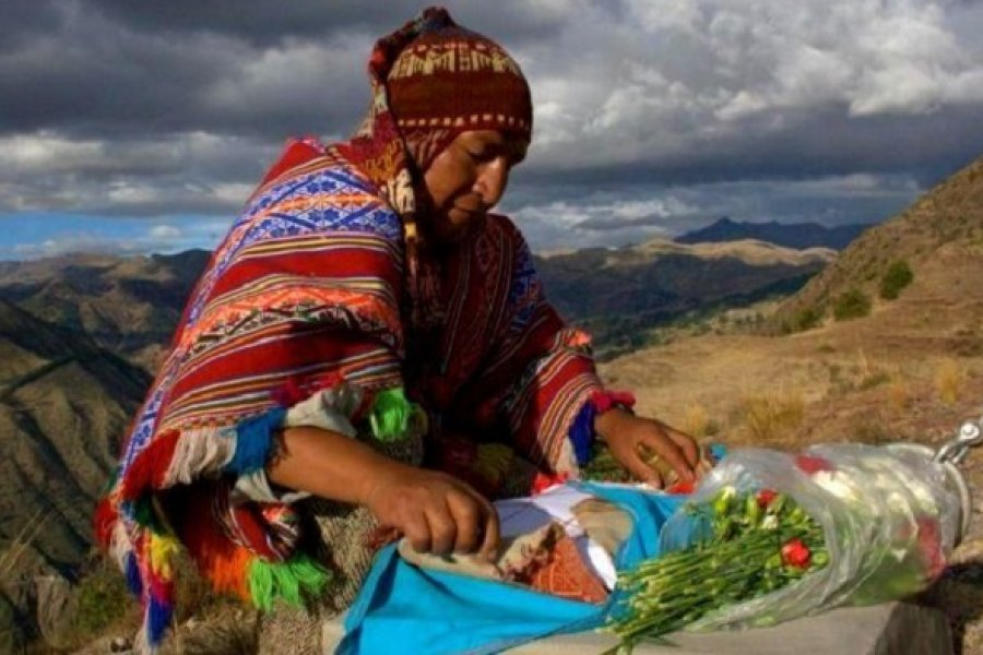 El ancestral rito de la Pachamama en tiempos de pandemia