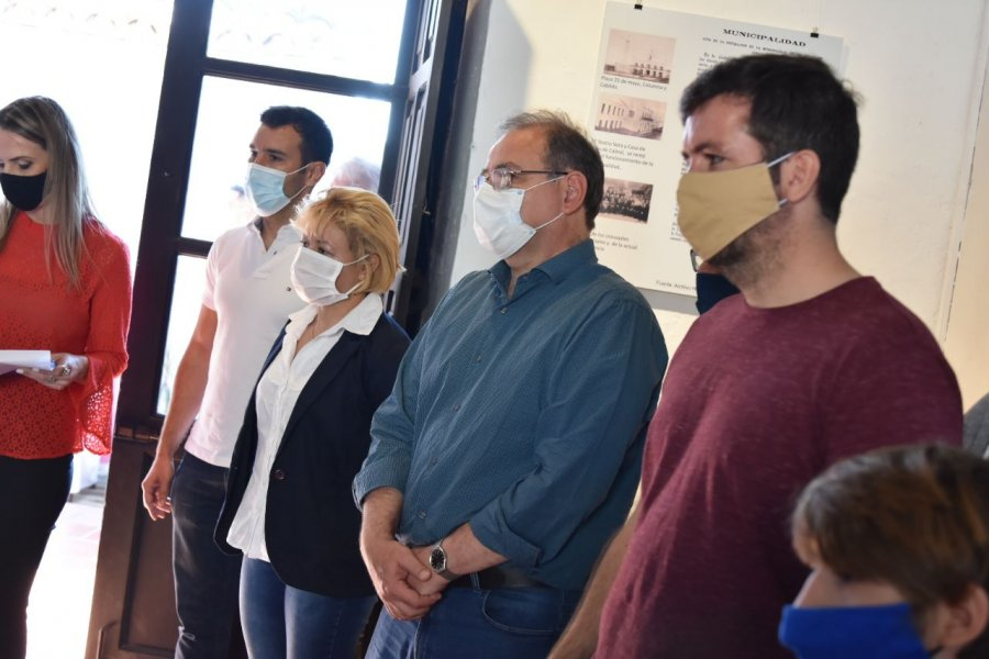 Tassano participó de un encuentro cultural en Casa Molina