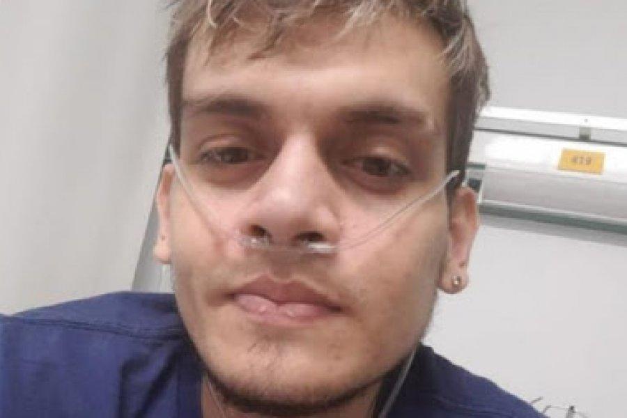 Gonzalo ya respira con sus nuevos pulmones