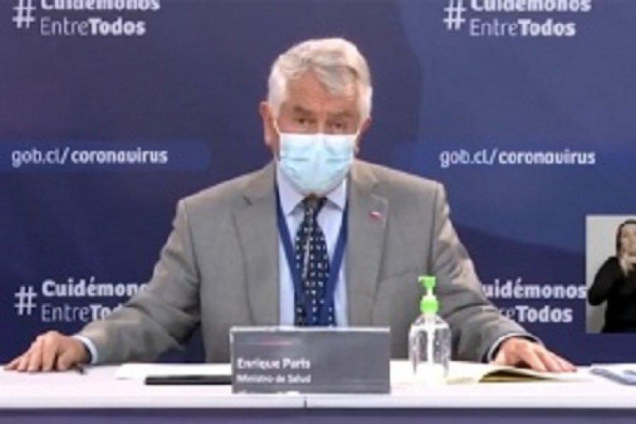Chile roza los 360.000 casos y rebasa los 9.600 fallecidos