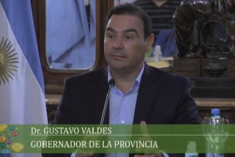 Pandemia: Valdés destacó la entrega de respiradores en Corrientes