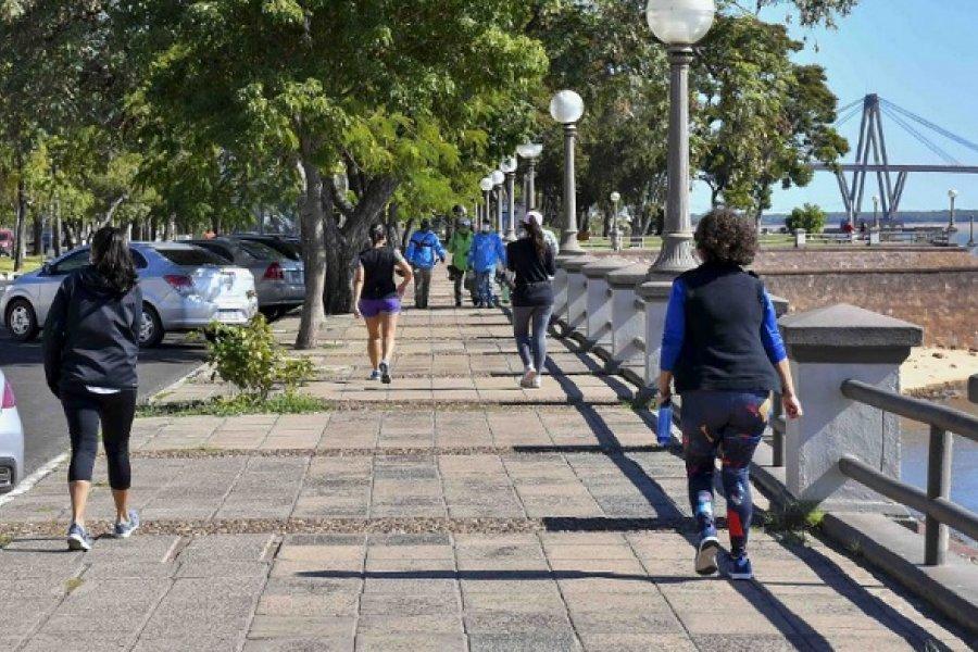 Modificación: Redujeron una hora las caminatas y aumentaron el tiempo para el ciclismo