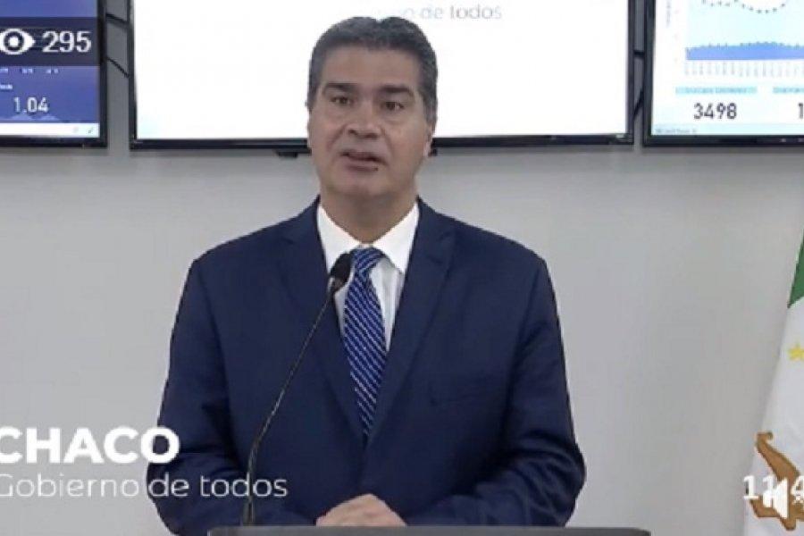 Chaco: Capitanich Junto al Ministro de Defensa de la Nación, Agustin Rossi.