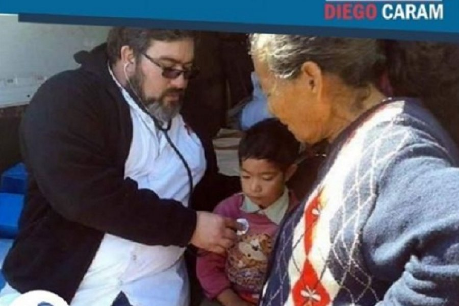 Operativo de salud en la zona rural de Mercedes