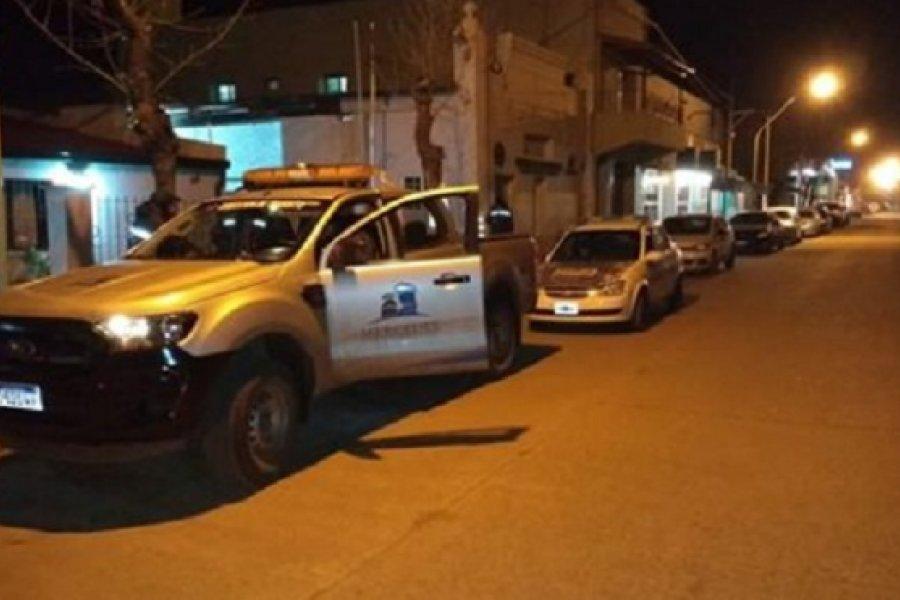Mercedes: Operativos de seguridad durante el fin de semana
