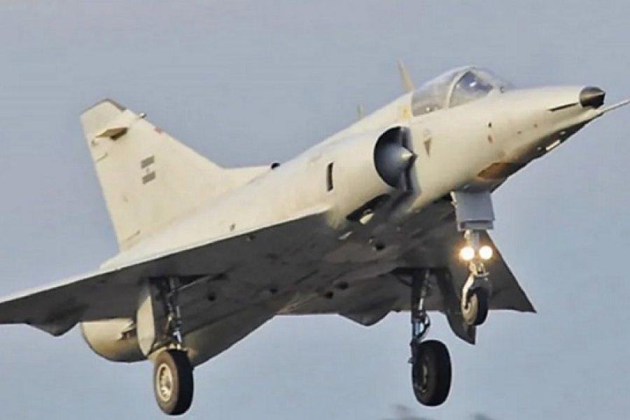Se estrelló un avión caza de la Fuerza Aérea Argentina: El piloto murió