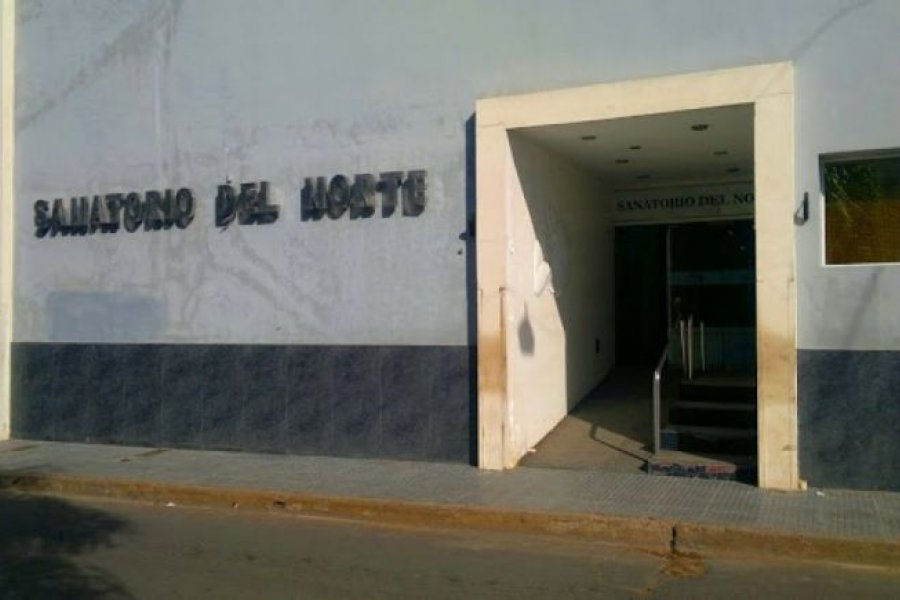 Sanatorio Norte suspende las atenciones tras el caso positivo de una enfermera
