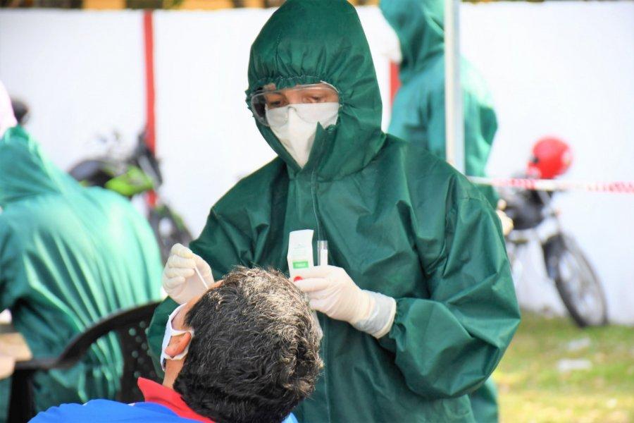 Realizarán hisopados en cinco barrios de Capital tras casos confirmados en el Llano