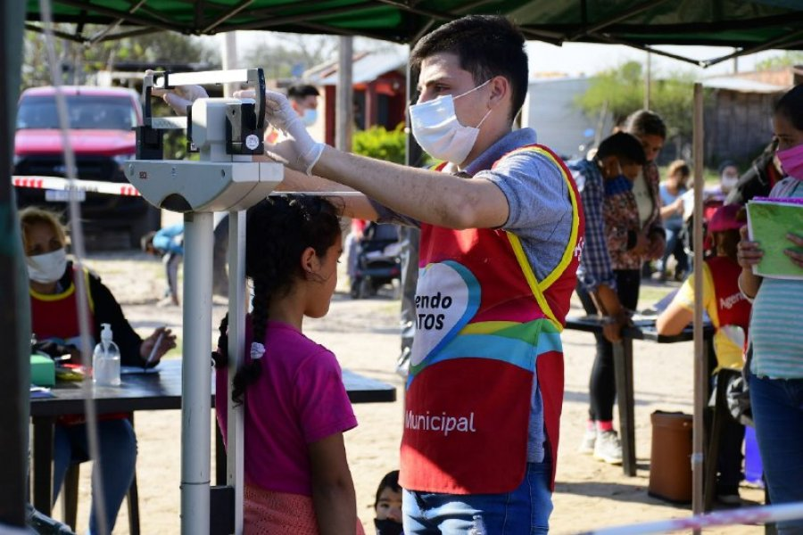 El operativo de Delegaciones Móviles llegó al barrio Doctor Montaña
