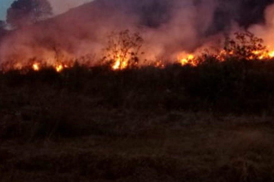 Preocupan los focos de incendios en la localidad de 9 de julio