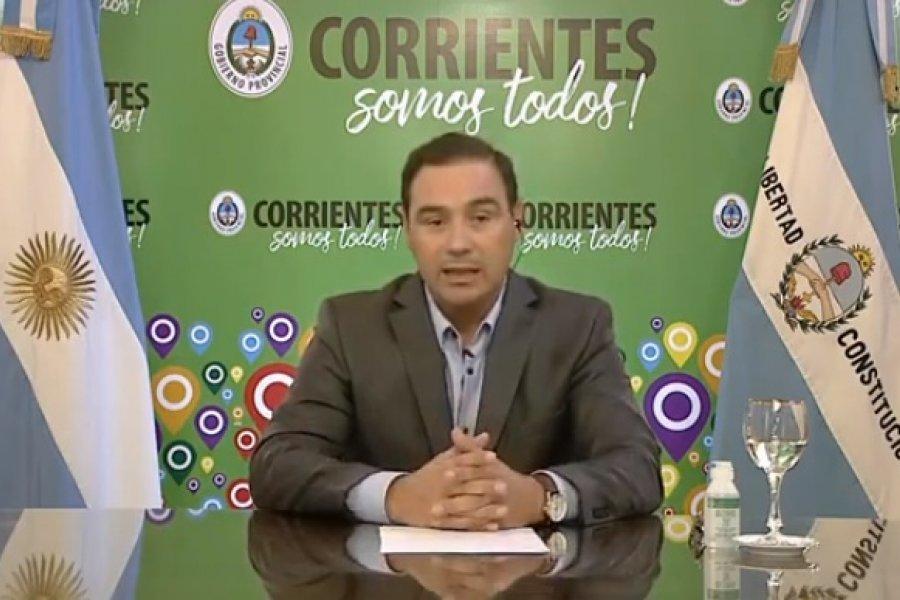El presidente Alberto Fernández anuncia obras  para Corrientes