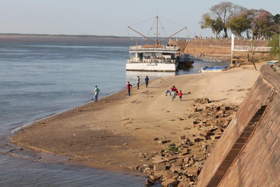 Persiste la bajante de los ríos Paraná y Uruguay