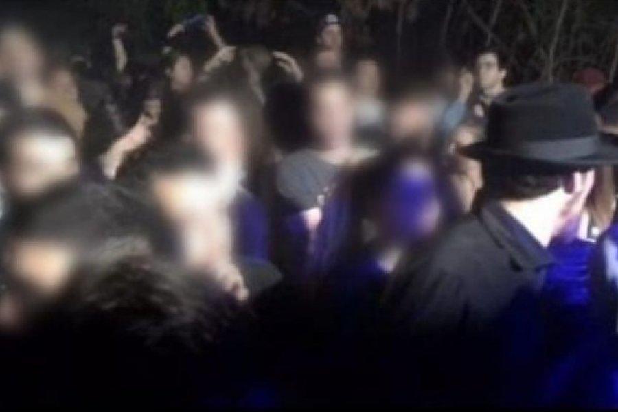 Fiesta clandestina en Corrientes: Policías allanaron un departamento