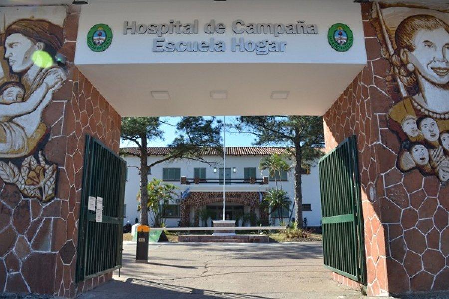 Hospital de Campaña: Dos pacientes están en terapia intensiva