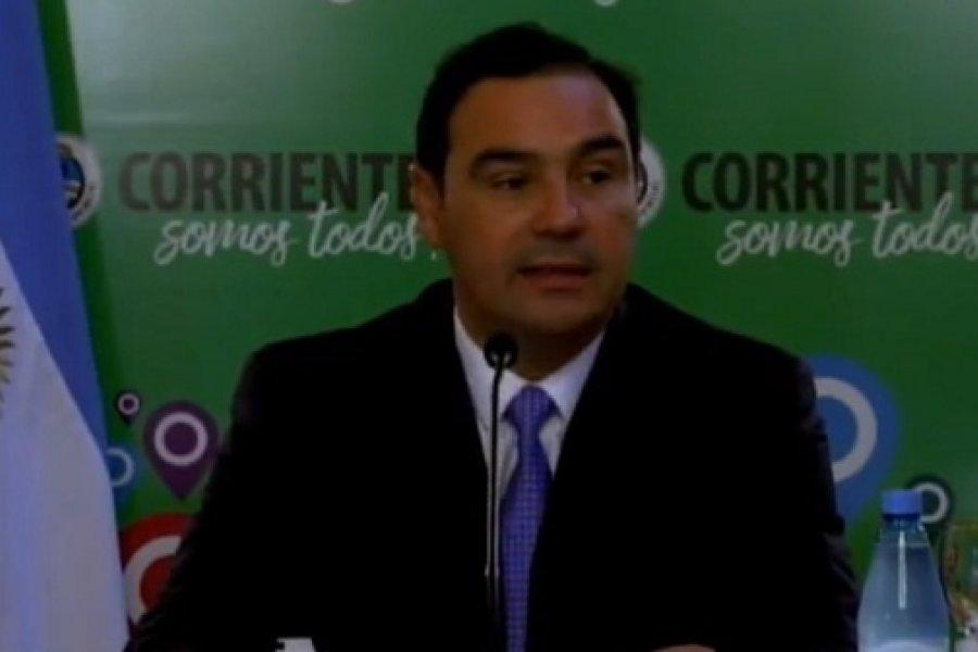 Coronavirus en Corrientes: Conferencia del gobernador Valdés