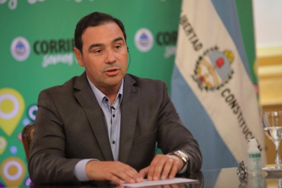 Covid-19 en Corrientes: Conferencia del gobernador Valdés