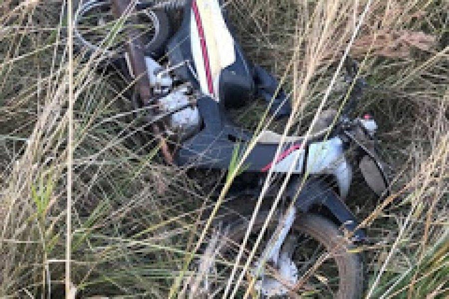 Terrible choque de motos en Mburucuyá