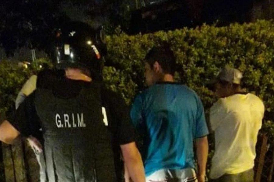 Demorados por arrojar cascotes a los vehículos en el barrio La Olla