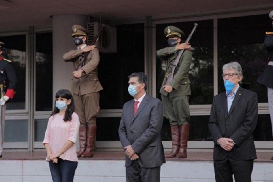 Capitanich encabezó el acto por los 69 años de la provincialización del Chaco