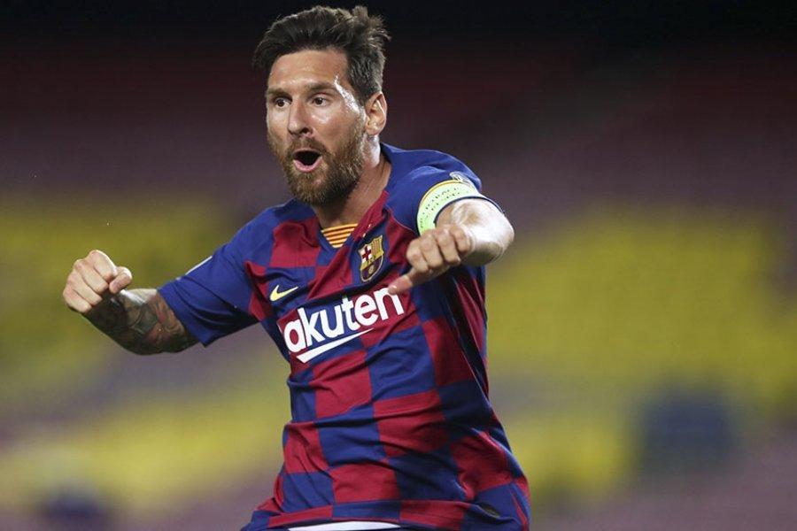 Barcelona, con gol de Messi, le ganó al Nápoli y tiene pasaje para la fase final