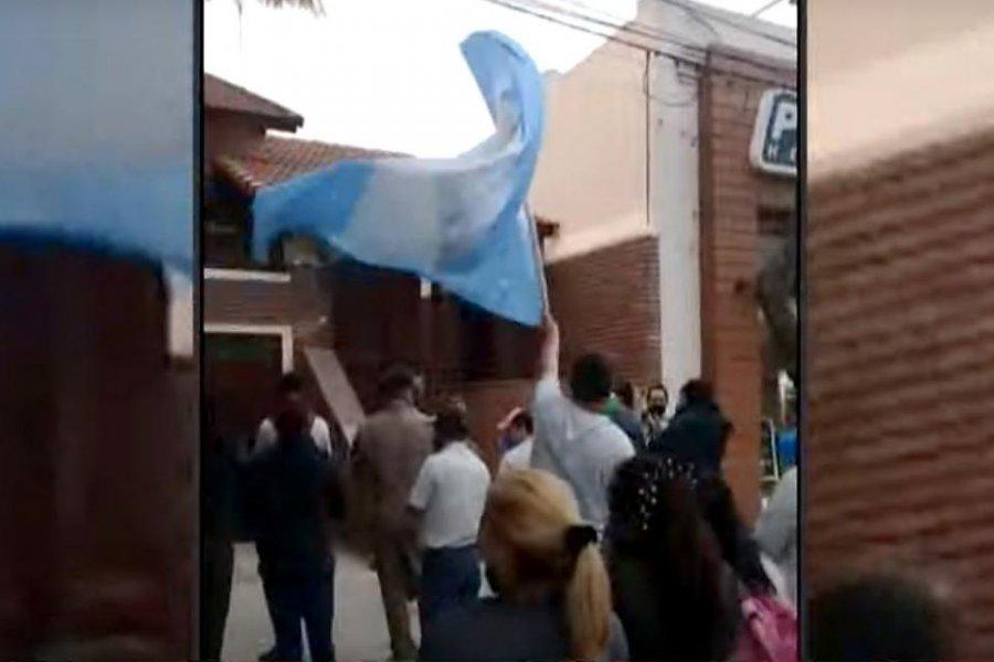 Trabajadores de Vicentin reclamaron por el pago de sus sueldos
