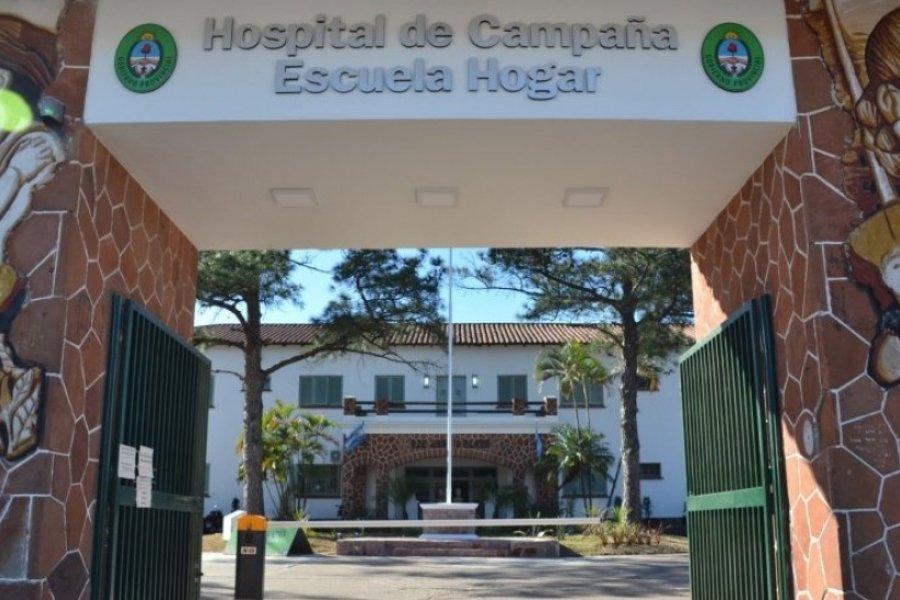 En el hospital de Campaña se concretó un procedimiento mini invasivo