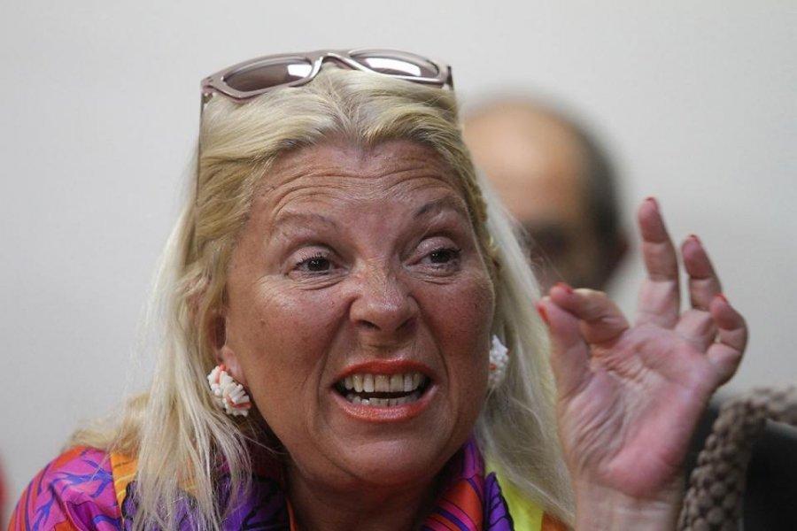 Elisa Carrió volvió a la política sin ánimo de cerrar la grieta