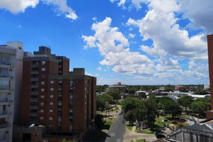 Último día de calor con máxima de 35 grados en Corrientes